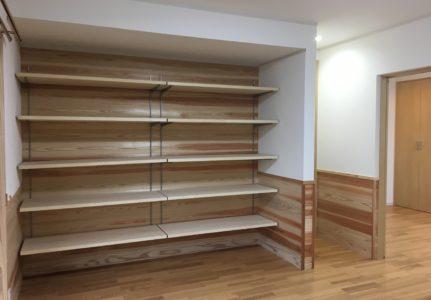 納戸・寝室の間取り内装リフォーム(三島市)