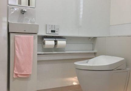 トイレリフォーム(三島市)トイレ拡張含む