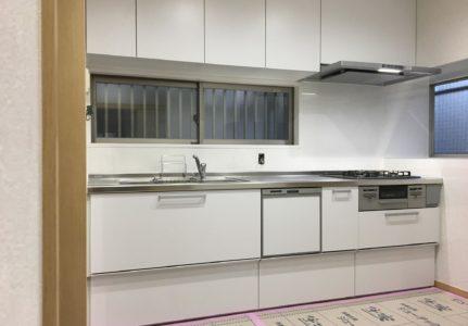 キッチンの改修工事(函南町)
