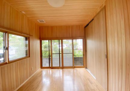 寝室の改装と断熱工事(三島市)